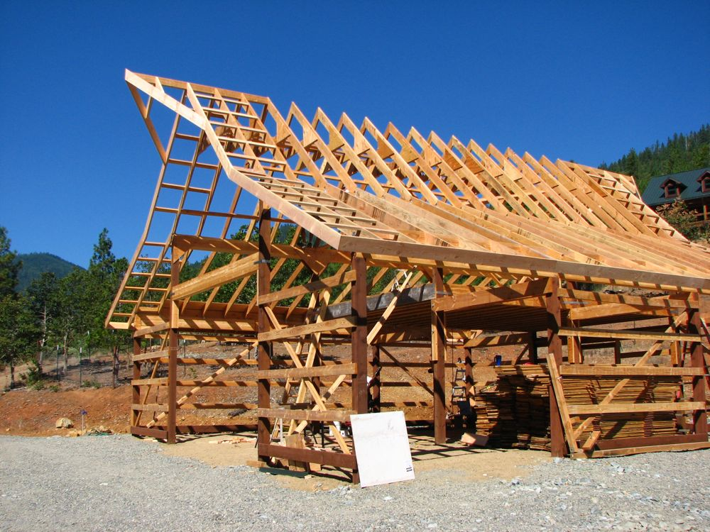 """Building an """"old fashioned appearance"""" new barn - Page 9"""